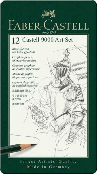 Faber-Castell Bleistift CASTELL 9000 12er Art Set