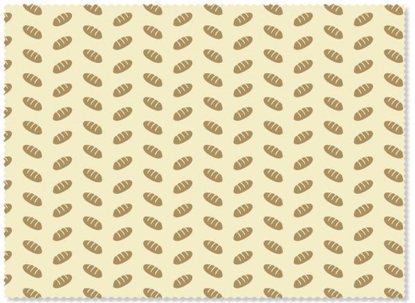 "Nuts Bee's Wax Bienenwachstuch ""Brot"" 1Stk."