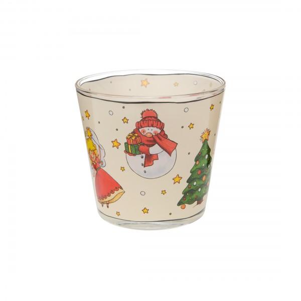 Goebel Teelicht I Love Christmas