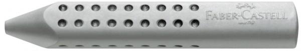 Faber-Castell Grip 2001 Dreikantradierer, grau