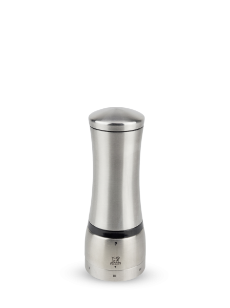 Peugeot Pfeffermühle Mahé aus Edelstahl, u'Select-System, 16 cm