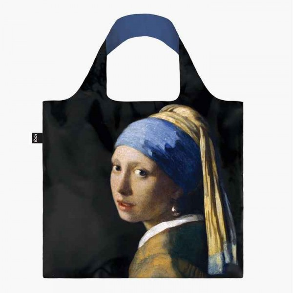 LOQI JOHANNES VERMEER Girl with a Pearl Earring Tasche