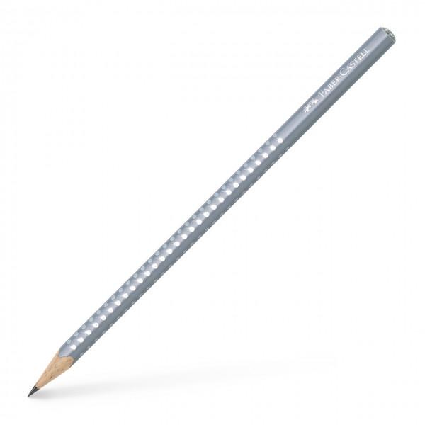Faber-Castell Sparkle Bleistift, pearl grau