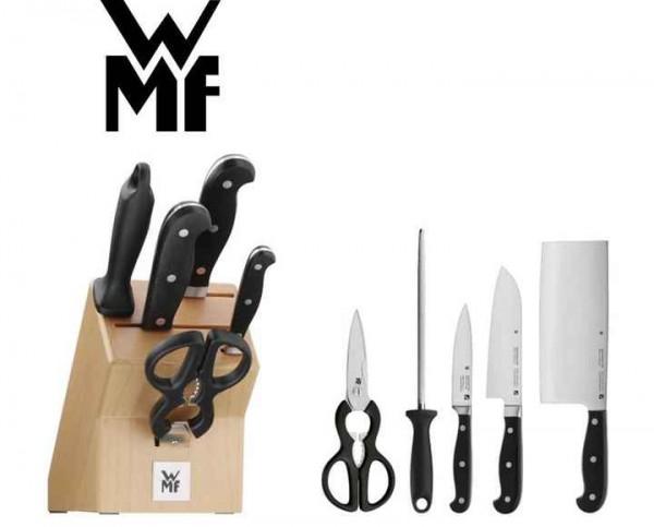 Wmf Messerblock Bestückt 6 Teilig Spitzenklasse Plus