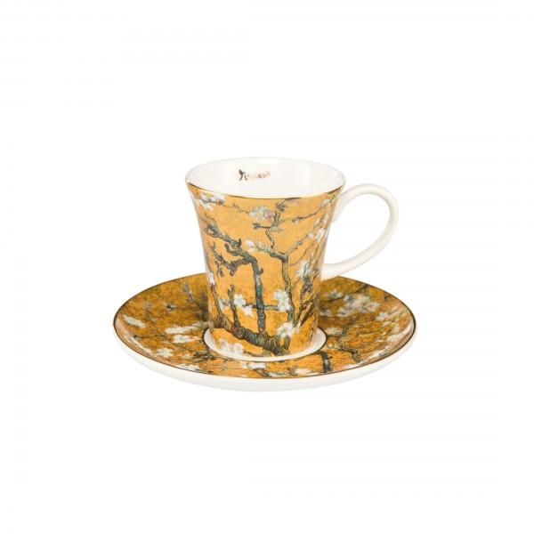 Goebel Mandelbaum Gold Espressotasse, Vincent van Gogh