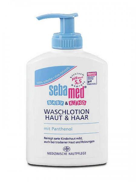 Sebamed Baby & Kind Waschlotion Haut & Haar 200 ml