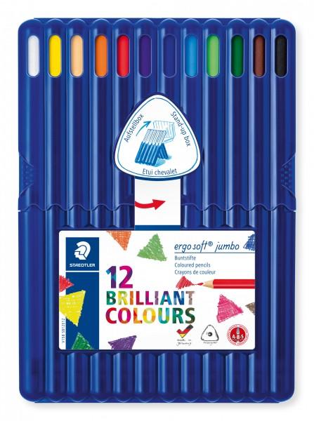 STAEDTLER Farbstift ergosoft jumbo 12St Box