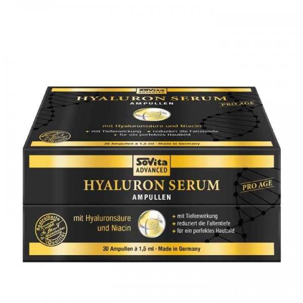 Sovita Advanced Hyaluron Serum Ampullen - Pro Age -30 x 1,5ml