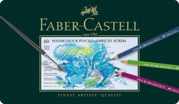 Faber-Castell Aquarellstift Albrecht Dürer 60er Blechetui
