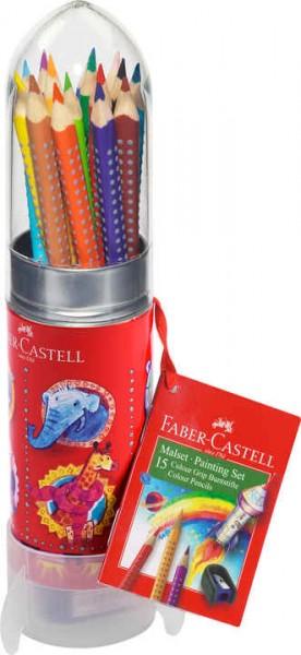 Faber-Castell Colour GRIP Malset Rakete