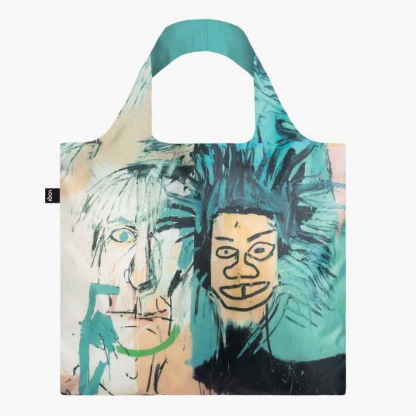 LOQI JEAN MICHEL BASQUIAT Warhol Tasche