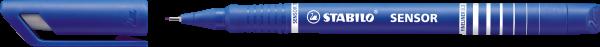 STABILO Fineliner SENSOR, blau, 0,3 mm