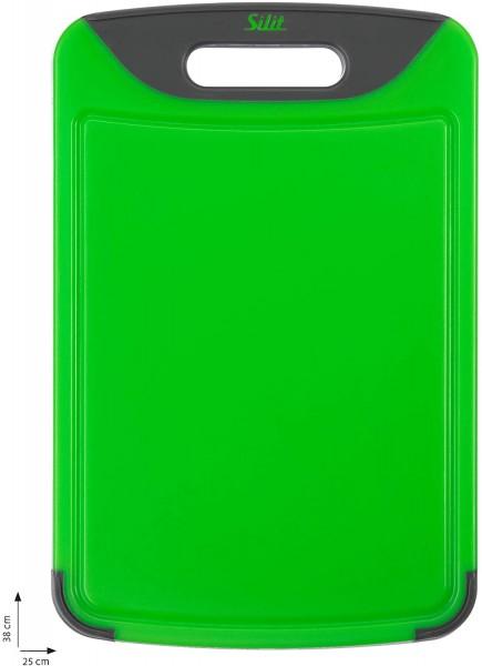 Silit Schneidebrett 38x25 cm Grün