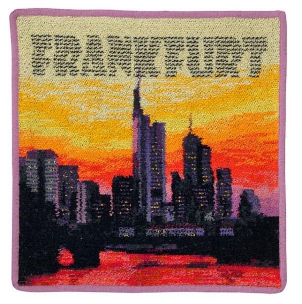 "FEILER Seiftuch ""Frankfurt Skyline"" 30 x 30"