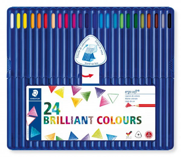 STAEDTLER Farbstift ergosoft 24St Box