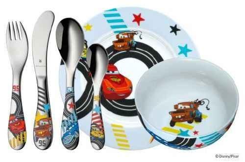 WMF Kinderbesteck Set 6-teilig Disney Cars