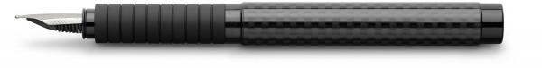 Faber-Castell Essentio Carbon Füller, schwarz