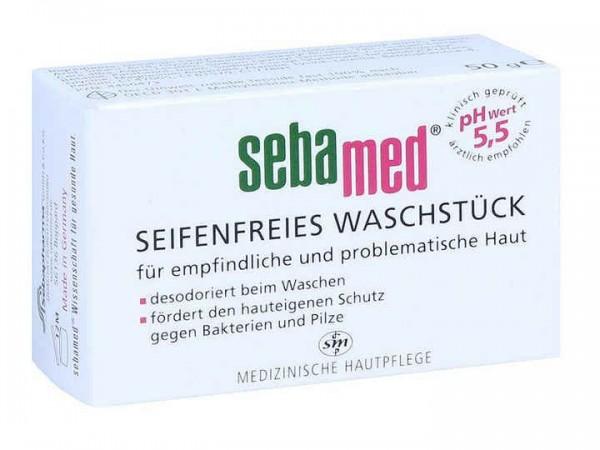 Sebamed Seifenfreies Waschstück 50g