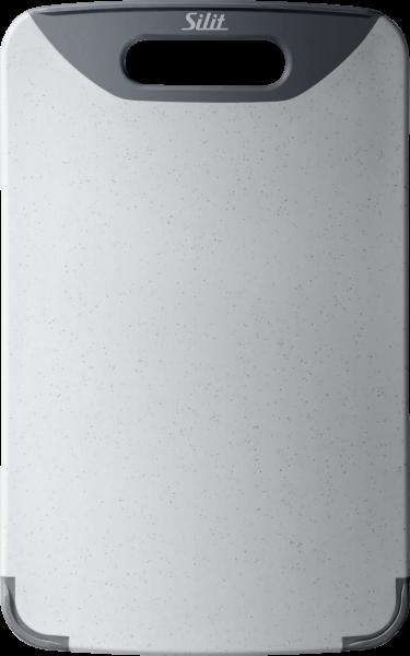 Silit Schneidebrett, 32x20cm, Grau, Kunststoff