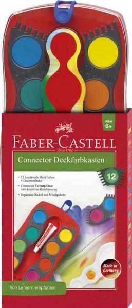 Faber-Castell Farbkasten CONNECTOR 12 Farben 6+