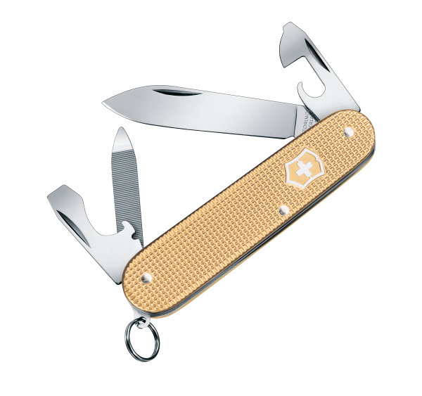 Victorinox Cadet Alox Limited Edition 2019 Champagner-Gold