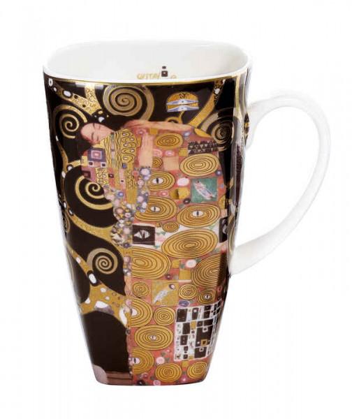 Goebel Gustav Klimt Die Erfüllung - Kaffeebecher 0.45l