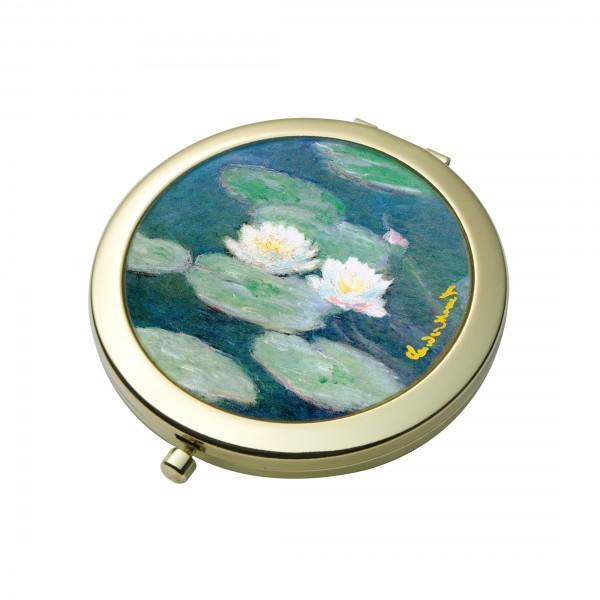 Goebel Seerosen am Abend Taschenspiegel, Claude Monet