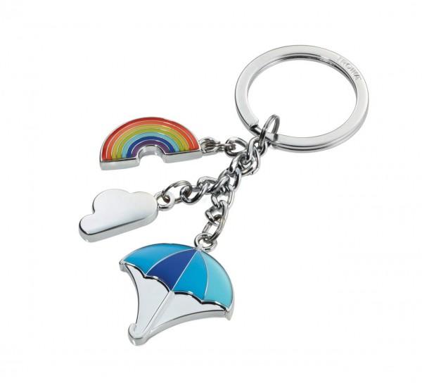 Troika Schlüsselanhänger Rainbow (Bunt)