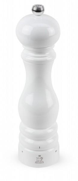 Peugeot Salzmühle Paris aus Holz, u'Select-System, weiß lackiert, 22 cm