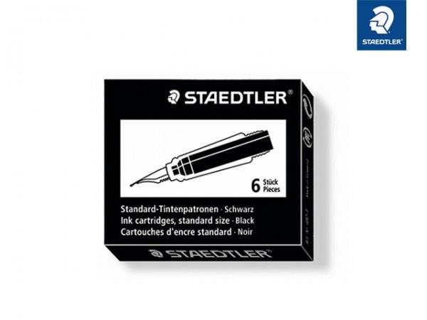 STAEDTLER Tintenpatronen 6 St. Schwarz
