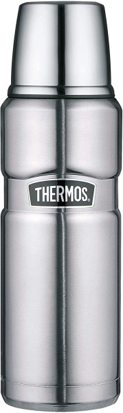 Alfi Thermos Thermosflasche Stainless King, steel 0,47L