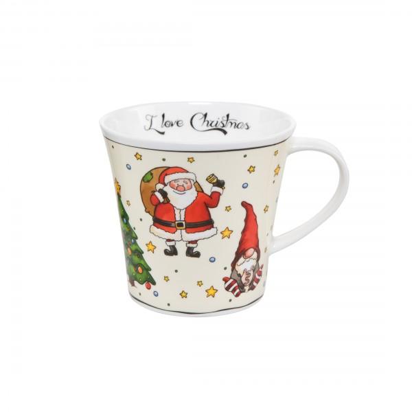 Goebel Coffee-/Tea Mug Künstlerbecher I love Christmas