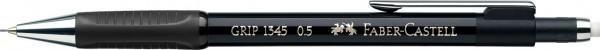 Faber-Castell Druckbleistift GRIP schwarz metallic