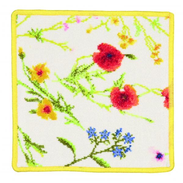 FEILER FLOWER MEADOW Seiftuch 25x25 gelb
