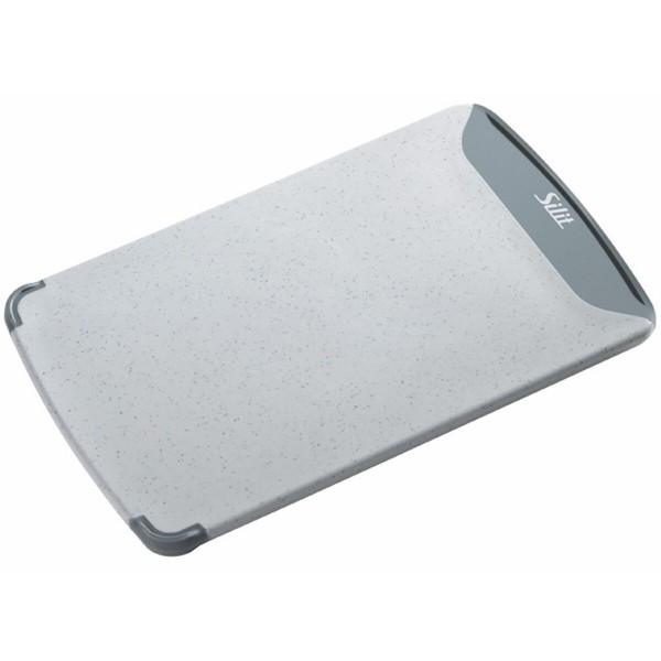 Silit Schneidebrett Grau 25 x 16 cm