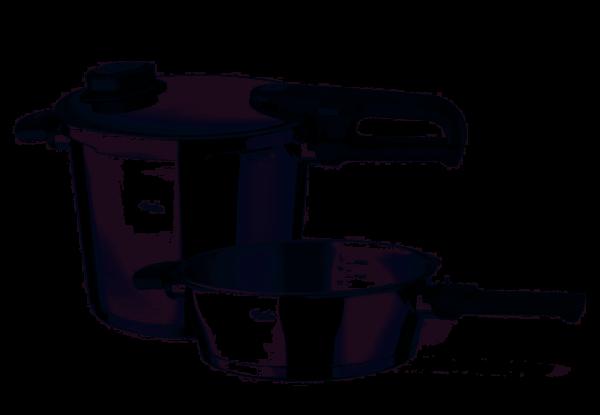 Fissler Schnellkochtopf-Set 2-tlg. Vitavit Premium 22 cm / 6,0 + 2,5 Liter