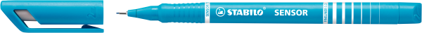 STABILO Fineliner SENSOR, türkis, 0,3 mm