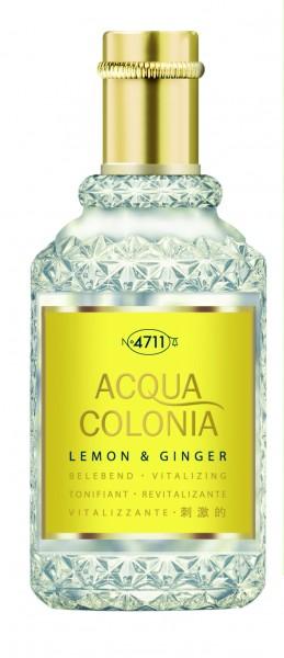 4711 ACQUA COLONIA LEMON & GINGER Eau de Cologne Natural Spray