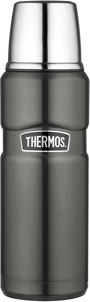 Alfi Thermos Thermosflasche Stainless King, Grau 0,47L