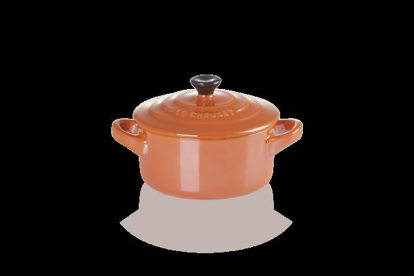 Le Creuset Mini Cocotte Steinzeug Ofenrot