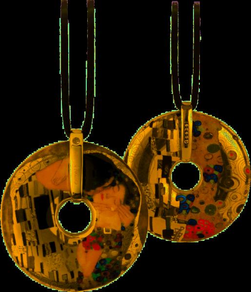 Goebel Halskette Gustav Klimt - Der Kuss