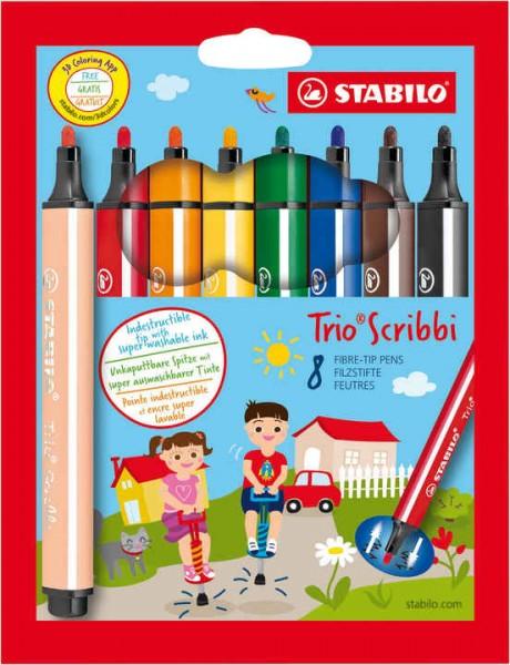 STABILO Trio Scribbi 8er Etui